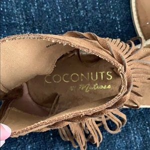 Coconuts by Matisse Shoes - Juno fringe sandals